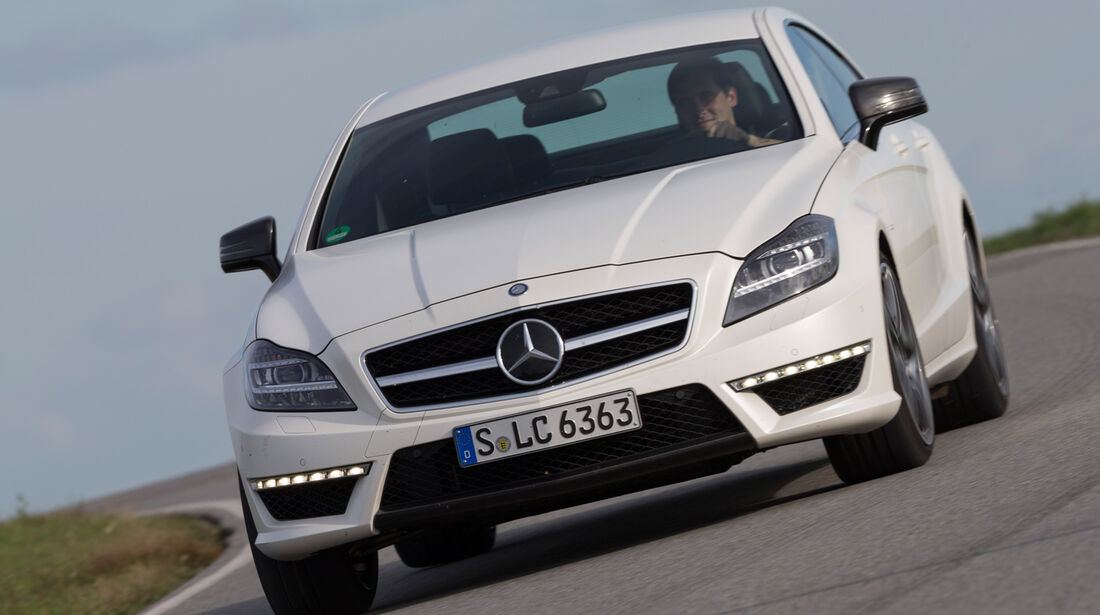 Mercedes CLS 63 AMG S 4Matic, Frontansicht