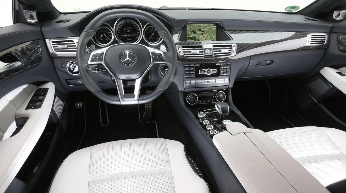 Mercedes CLS 63 AMG Shooting Brake, Cockpit, Lenkrad