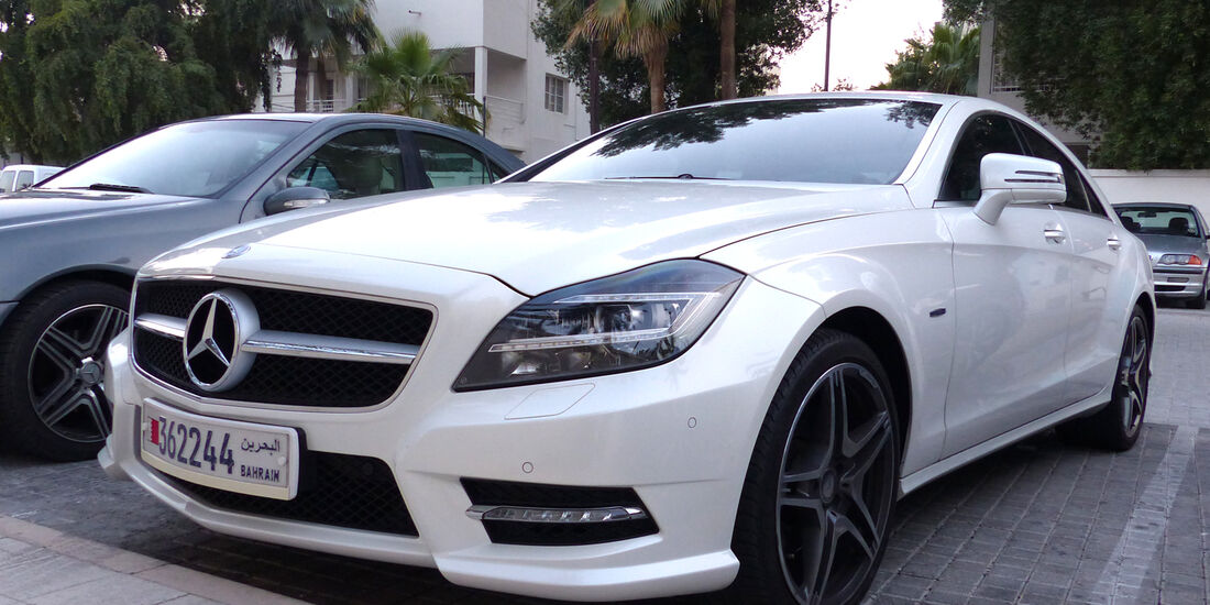 Mercedes CLS - Carspotting Bahrain 2014