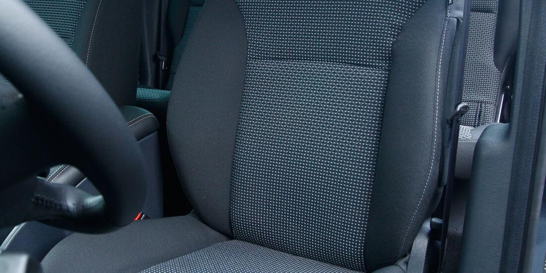 Mercedes Citan 109 CDI, Fahrersitz