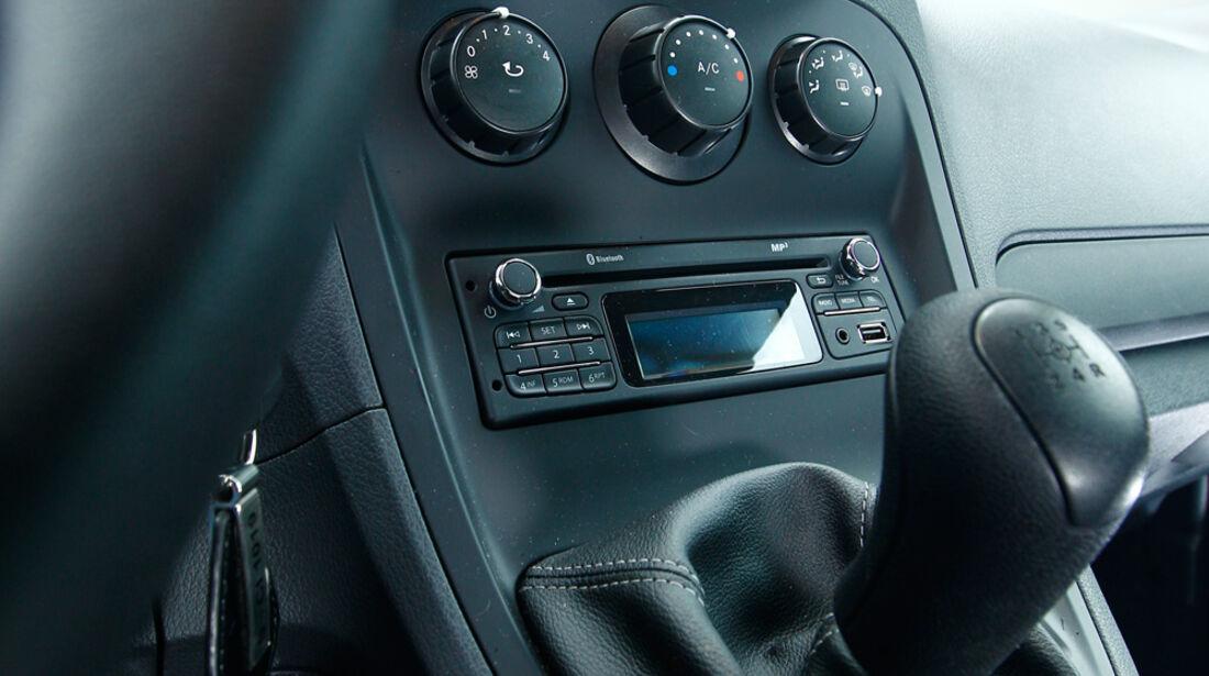 Mercedes Citan 109 CDI, Mittelkonsole
