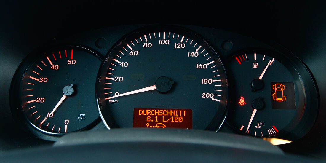 Mercedes Citan 109 CDI, Rundinstrumente