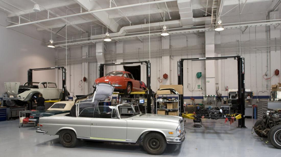 Mercedes Classic Center Irvine Michael Kunz, Leiter Classic Car Center