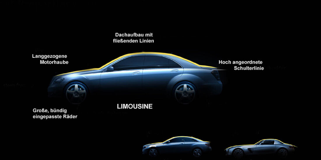 Mercedes Designmerkmale