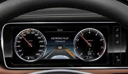 Mercedes Distronic Instrumente Abstandsgrafik ACC