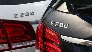 Mercedes E 200, Mercedes E 200 CDI T, Detail