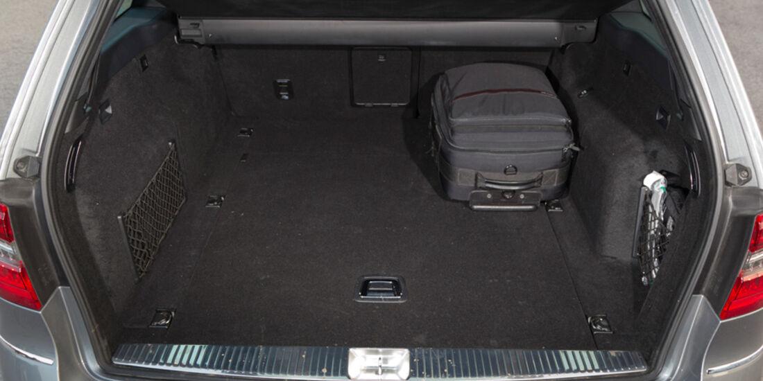 Mercedes E 200 T Avantgarde, Kofferraum