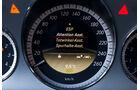 Mercedes E 200 T Avantgarde, Tacho