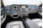 Mercedes E 220 CDI, Cockpit