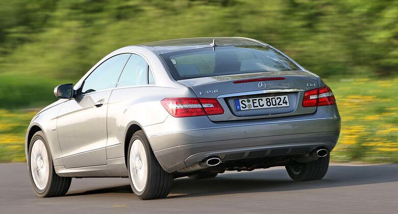 Mercedes E 350 CGI Coupe
