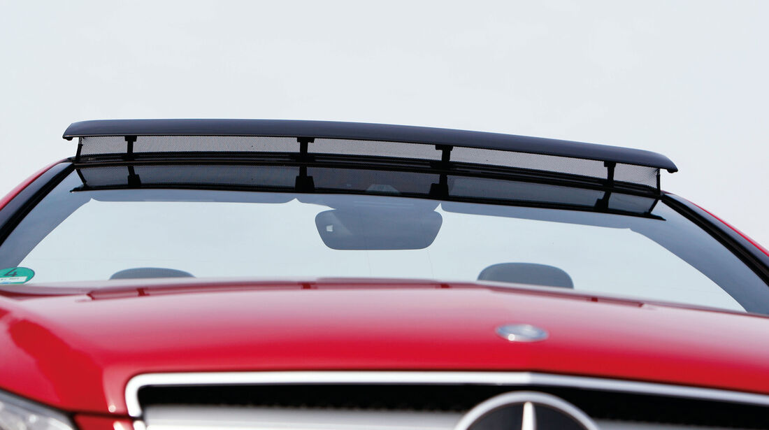 Mercedes E 350 Cabriolet, Kühlergrill