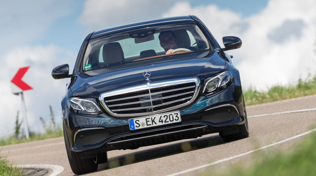 Mercedes E 350 d Exclusive, Frontansicht