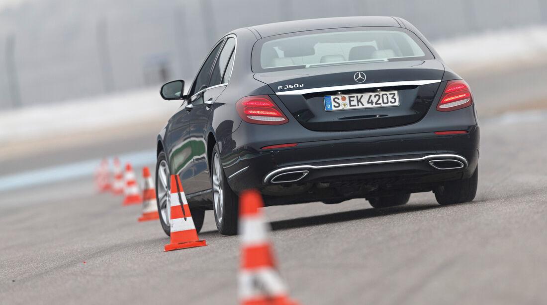 Mercedes E 350 d, Heckansicht