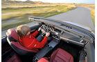 Mercedes E 400 Cabrio, Cockpit, Fahrersicht