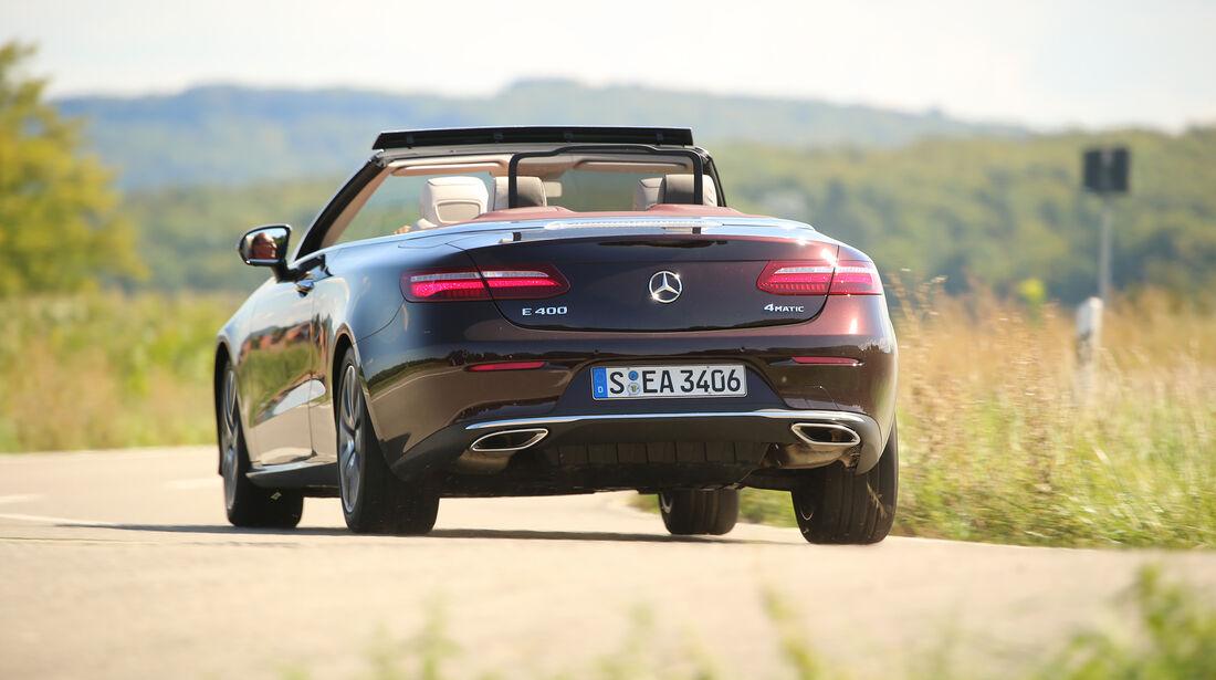 Mercedes, E 400 Cabrio, Exterieur, Heck