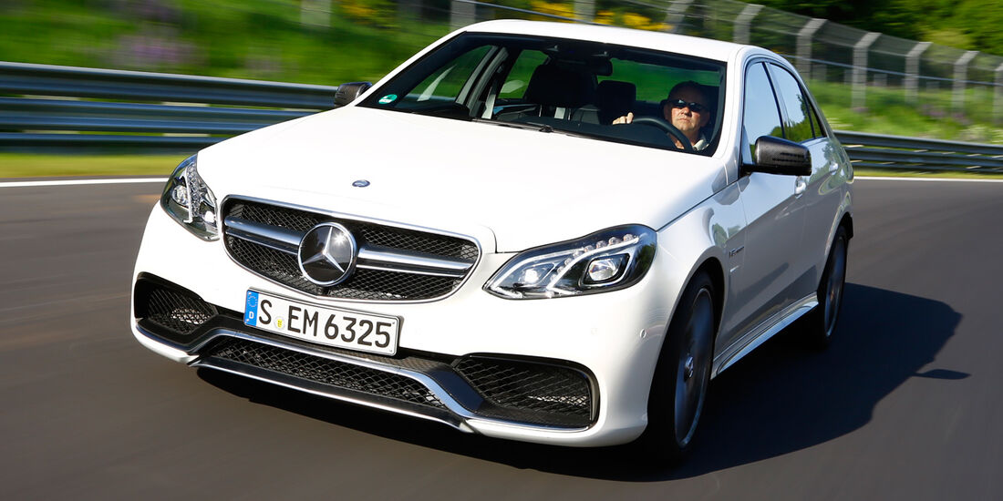 Mercedes E 63 AMG S 4matic, Frontansicht