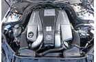 Mercedes E 63 S AMG, Motor