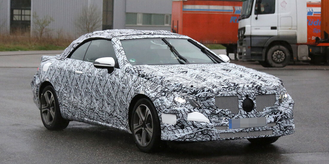 Mercedes E-Klasse Cabrio Erlkönig