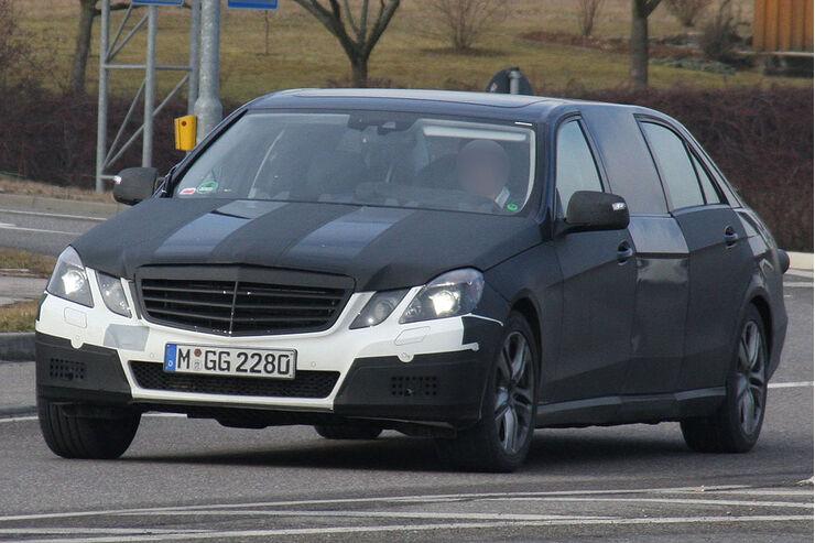 Mercedes E-Klasse Erlkönig