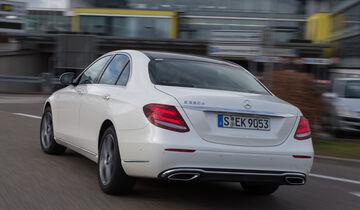 Mercedes E-Klasse, Taxi, Stuttgart, Vorstellung