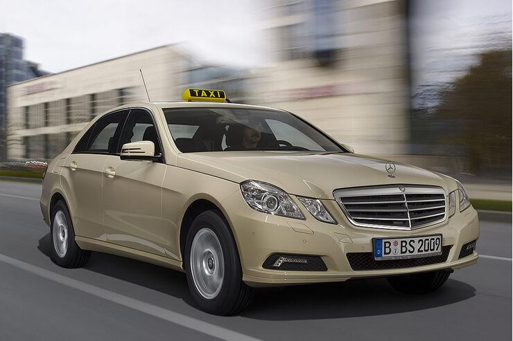 Mercedes E-Klasse Taxi