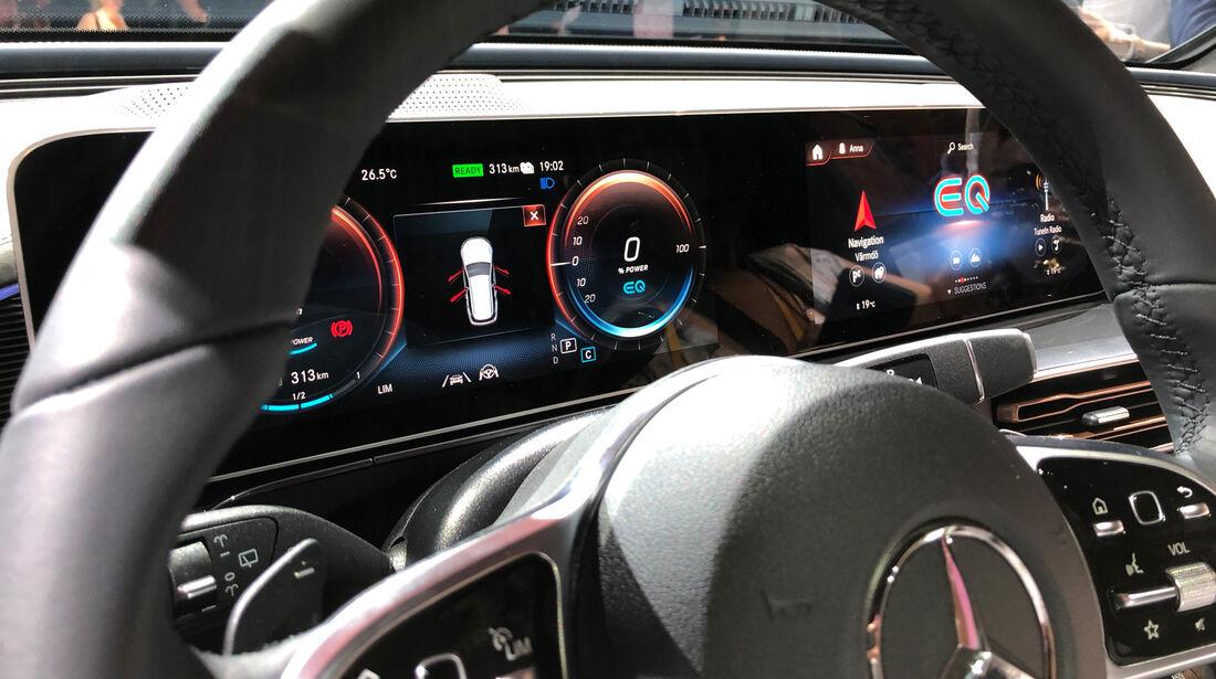 Mercedes EQC Premiere Elektro SUV 2018