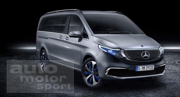 Mercedes EQV 2019