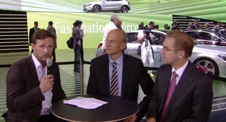 Mercedes-Expertentalk, IAA