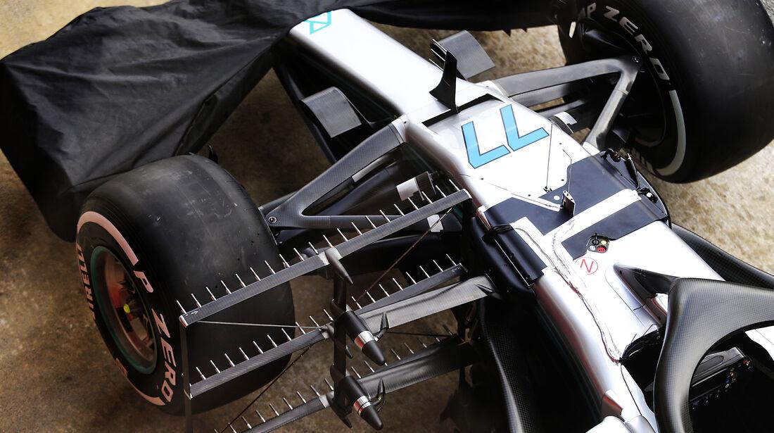 Mercedes - F1-Test - Barcelona - Tag 7 - 8. März 2018