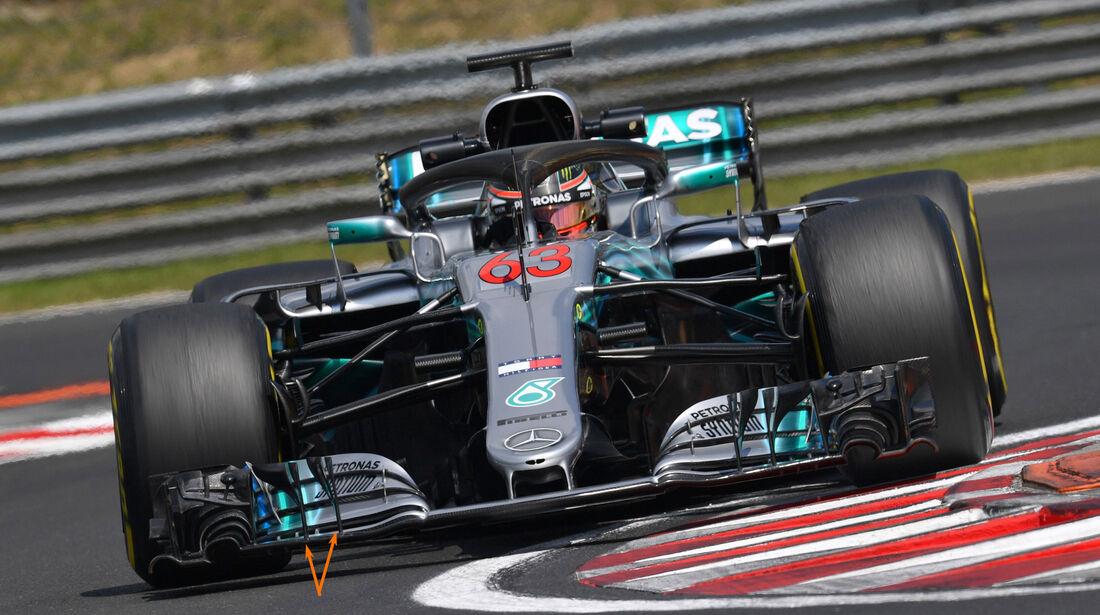 Mercedes - F1-Testfahrten - Ungarn