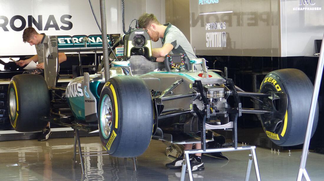 Mercedes - Formel 1 - GP Abu Dhabi - 20. November 2014
