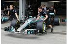 Mercedes - Formel 1 - GP Aserbaidschan 2017 - Baku - Donnerstag - 22.6.2017