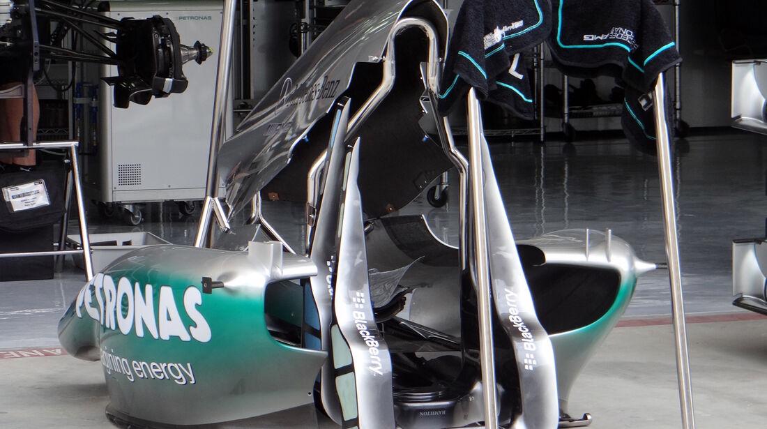 Mercedes - Formel 1 - GP Bahrain - 18. April 2013