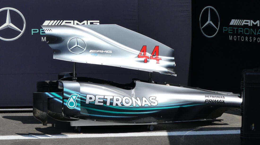 Mercedes - Formel 1 - GP Belgien - Spa-Francorchamps - 22. August 2018