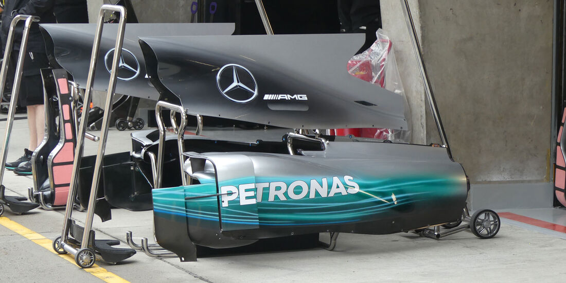 Mercedes - Formel 1 - GP China 2017 - Shanghai - 7.4.2017