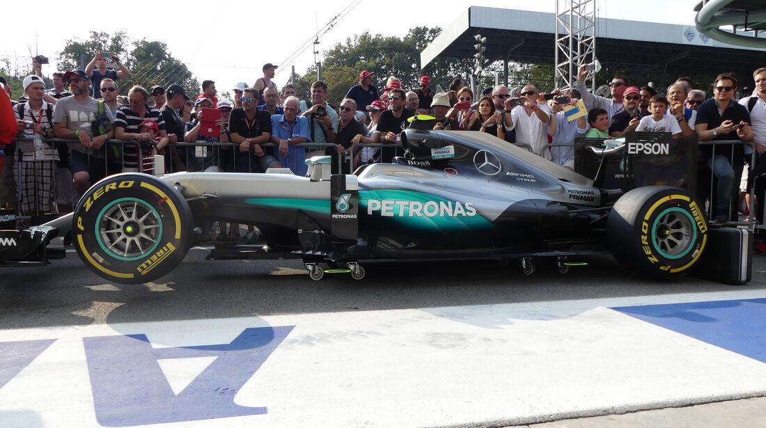 Mercedes - Formel 1 - GP Italien - Monza - 1. September 2016