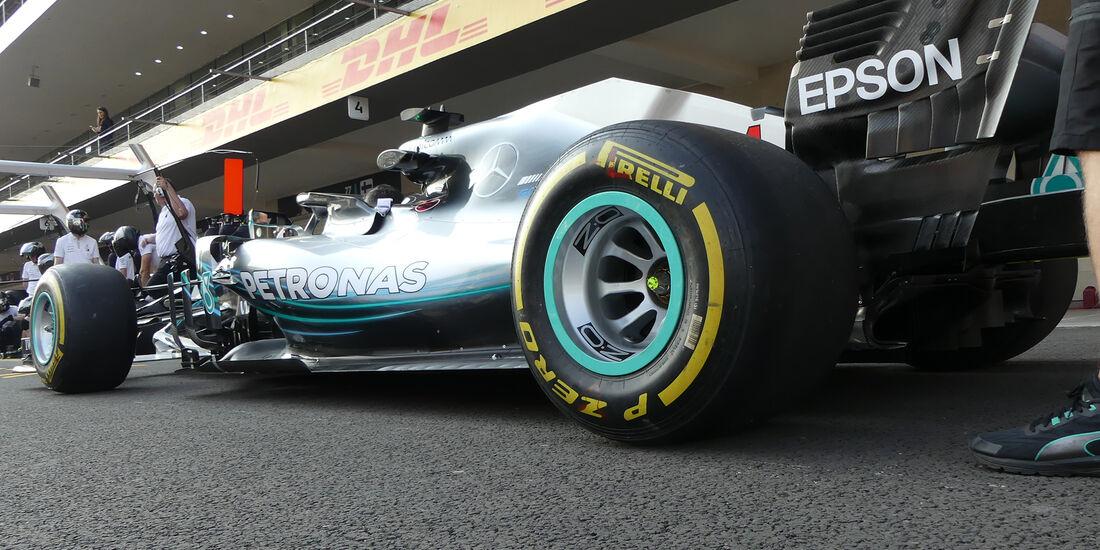 Mercedes  - Formel 1 - GP Mexiko - 26. Oktober 2018