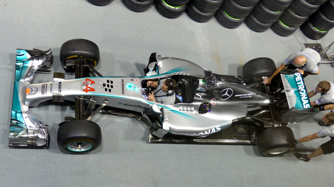 Mercedes - Formel 1 - GP Singapur - 18. September 2014