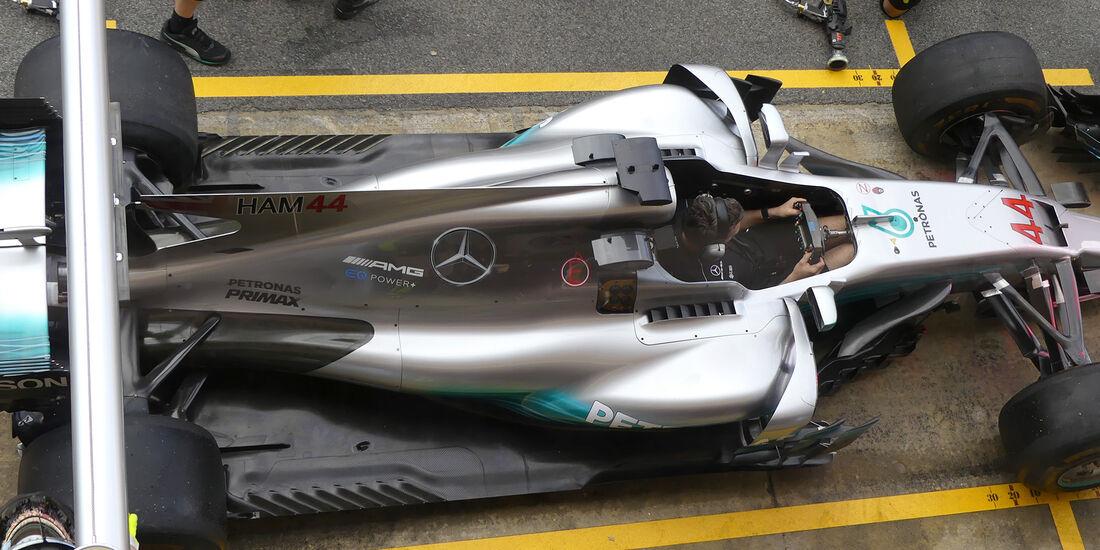 Mercedes  - Formel 1 - GP Spanien - Barcelona - 11. Mai 2017