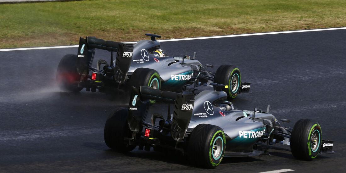 Mercedes - Formel 1 - GP Ungarn - 23. Juli 2016