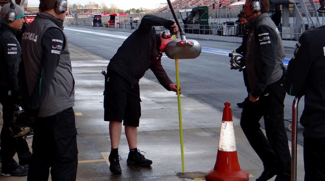Mercedes - Formel 1 - Test - Barcelona - 28. Februar 2013