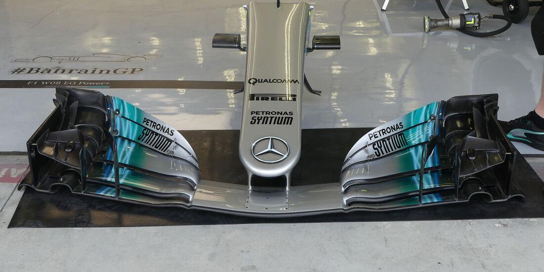 Mercedes - Formel 1 - Testfahrten - Bahrain - Mittwoch - 19.4.2017