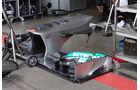 Mercedes Frontflügel - Formel 1 - GP Deuschland - 5. Juli 2013