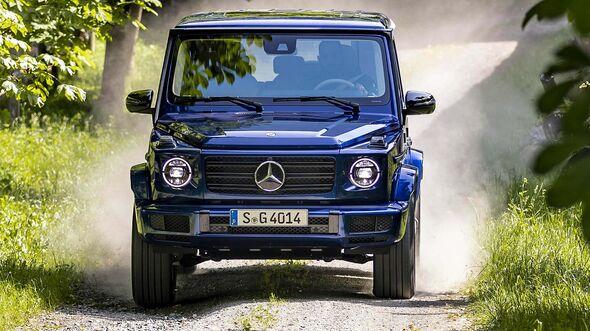 Mercedes G 400d Sondermodell STRONGER THAN TIME