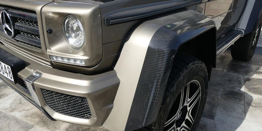 Mercedes G 500 4x4 - Carspotting - GP Abu Dhabi 2016