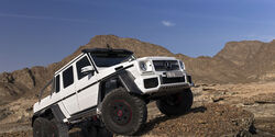 Mercedes G 63 AMG 6x6 in Dubai 2013
