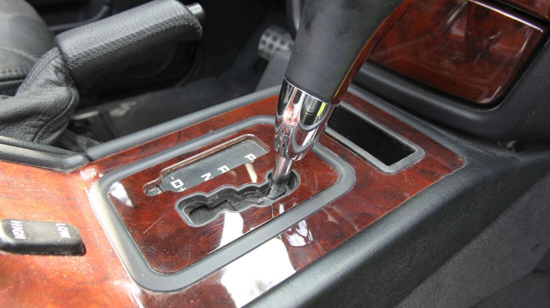 Mercedes G-Klasse, Automatik, Schaltung