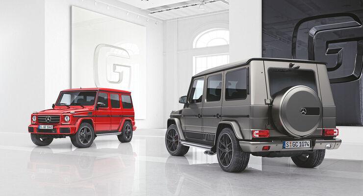 Mercedes G-Klasse designo manufaktur Edition