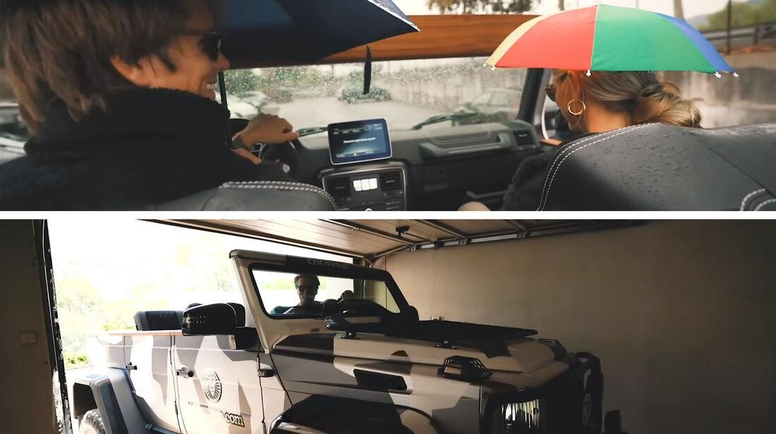 Mercedes G500 4X4² Safari Cabrio Jon Olsson