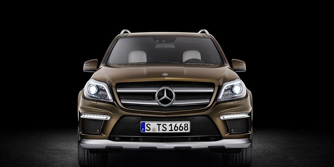 Mercedes GL 2012, Front